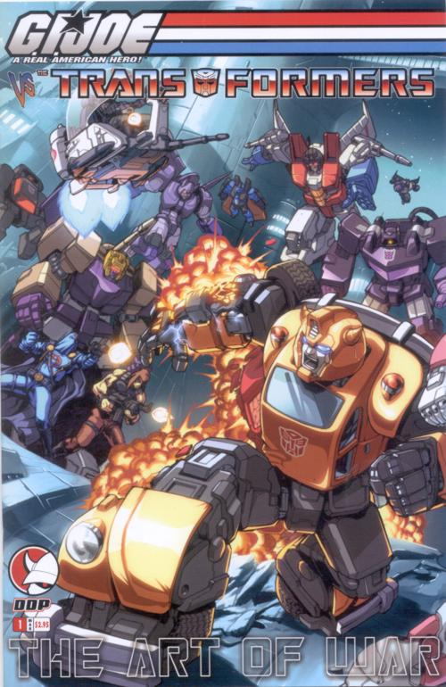 G.I. Joe Vs. Transformers V3 1 Image