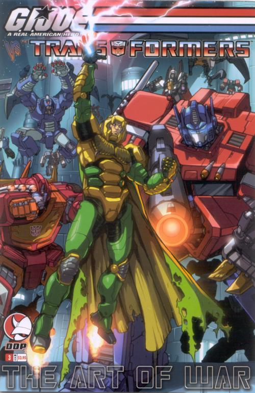 G.I. Joe Vs. Transformers V3 3 Image