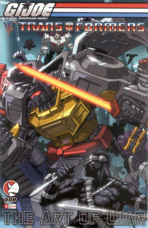 G.I. Joe Vs. Transformers V3 4 Image