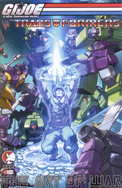 G.I. Joe Vs. Transformers V3 5 Image