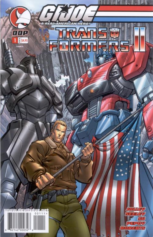 G.I. Joe Vs. Transformers V2 1 Image