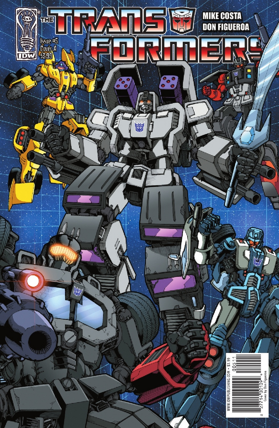 Transformers Ongoing #5 Image