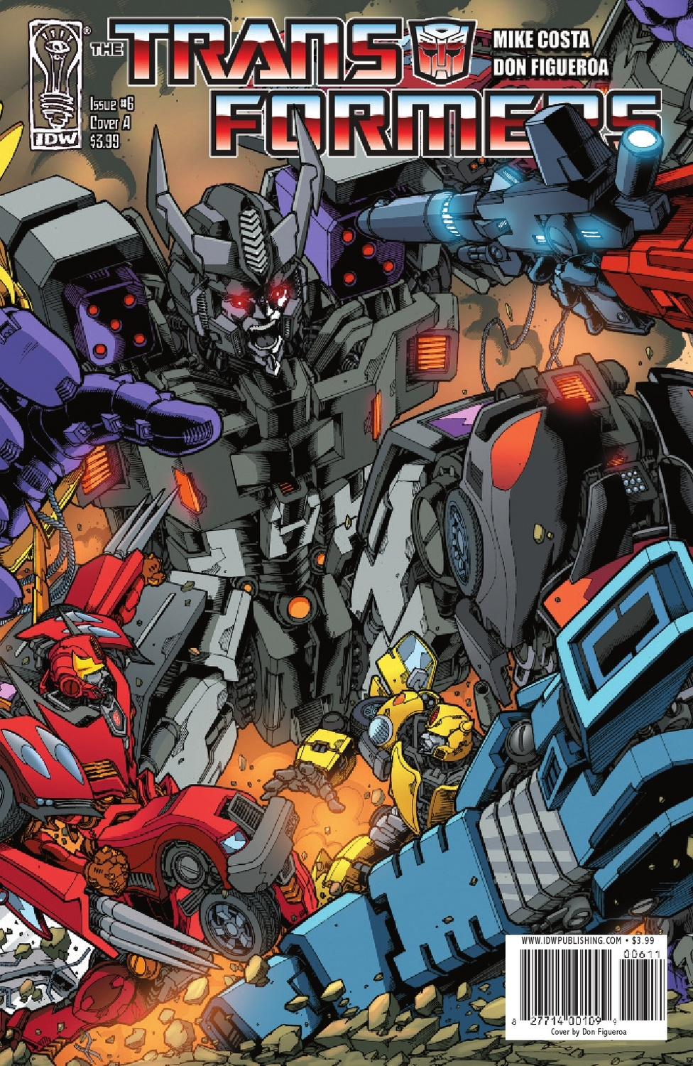 Transformers Ongoing #6 Image