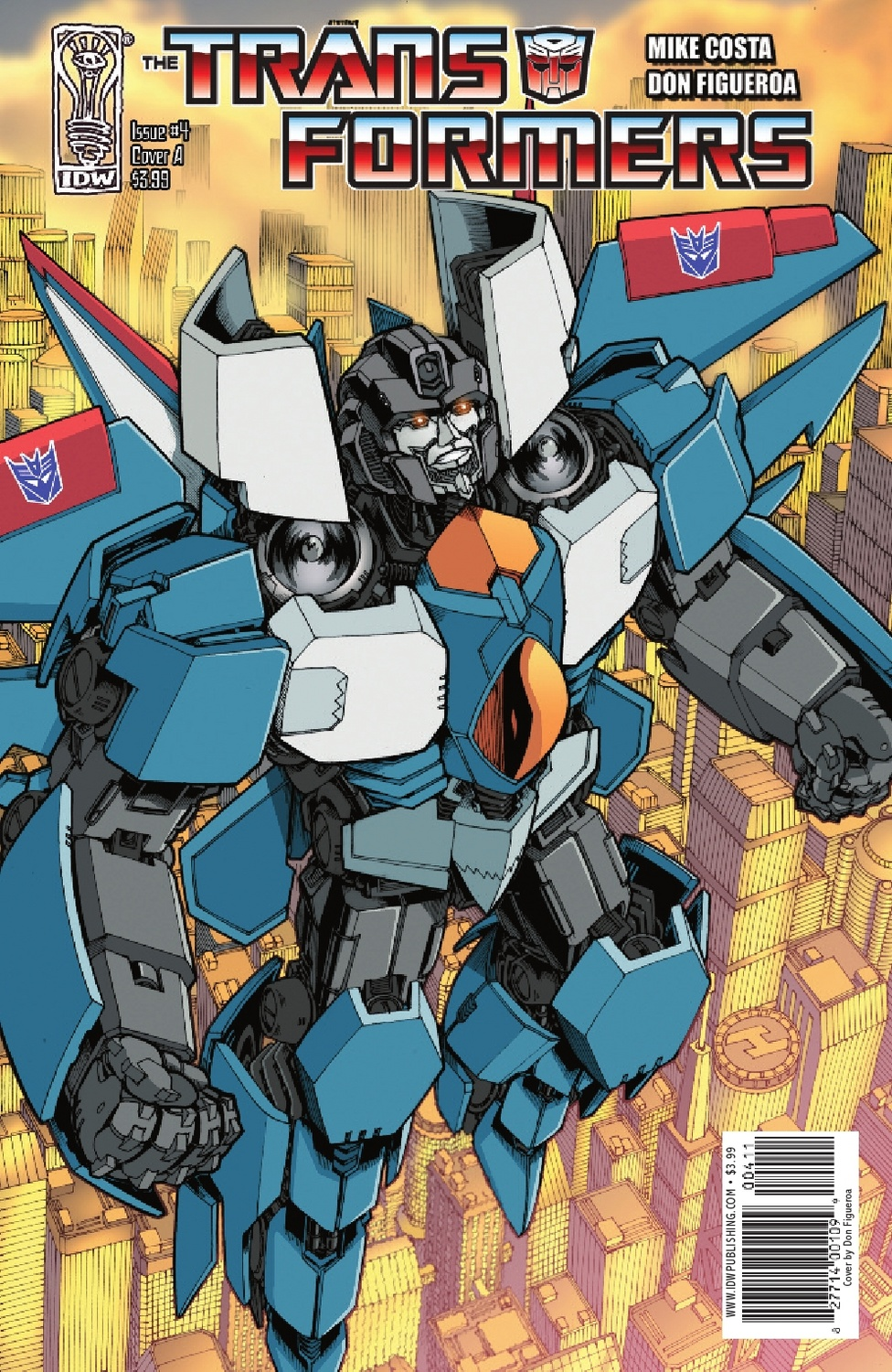 Transformers Ongoing #4 Image
