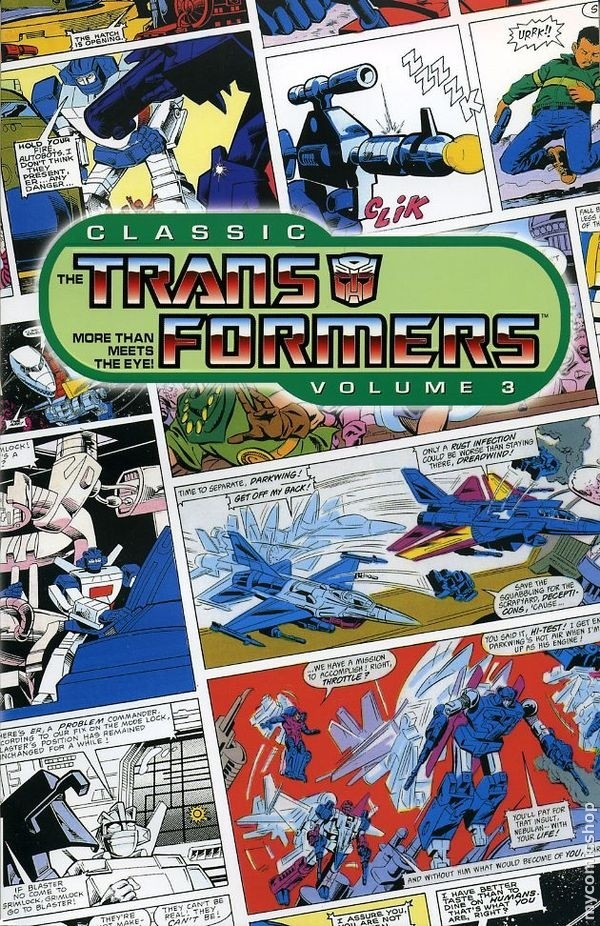 transformers-comics-classic-transformers-volume-3-cover Classic Transformers, Volume 3 TPB
