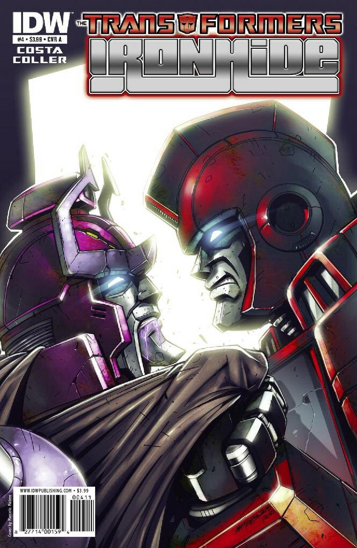 Ironhide #4 Comics Database.
