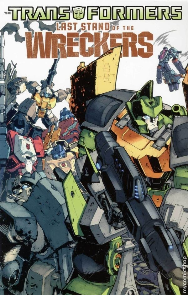 Last Stand of the Wrecker TPB Image