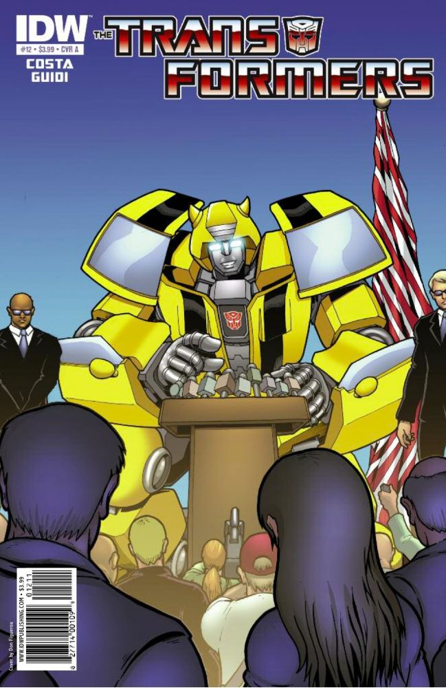 Transformers Ongoing #12 Image