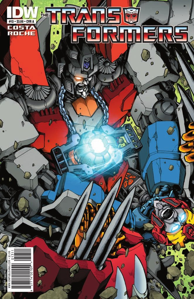 Transformers Ongoing #13 Image