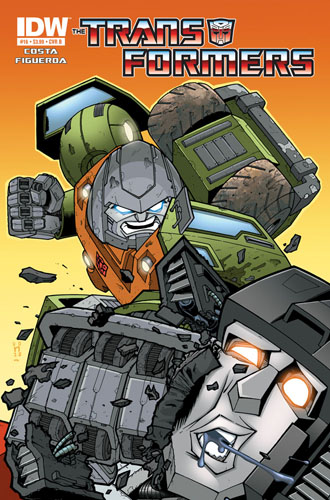 Transformers Ongoing #16 Image