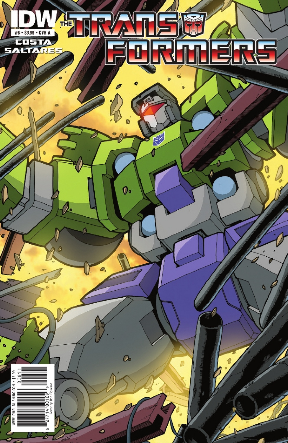 Transformers Ongoing #8 Image