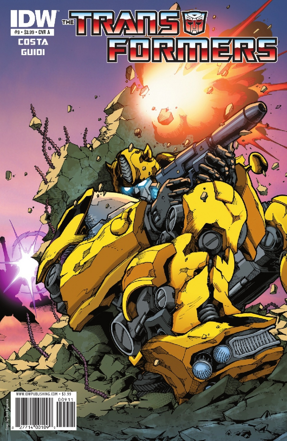 Transformers Ongoing #9 Image