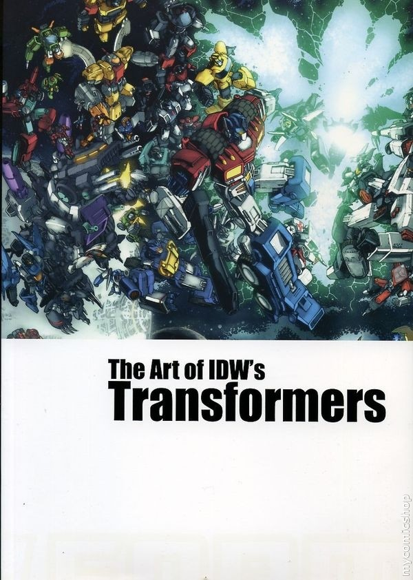 The Art of IDW's Transformers (Hardcover) Image