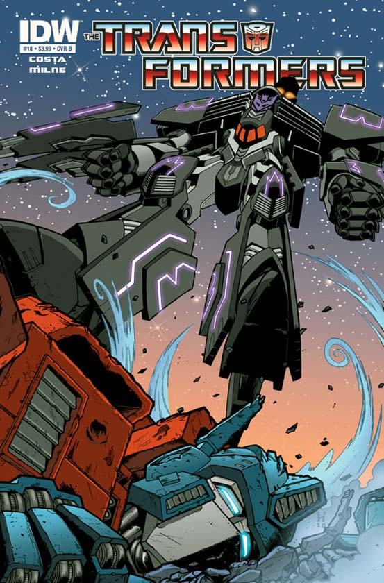 Transformers Ongoing #18 Image
