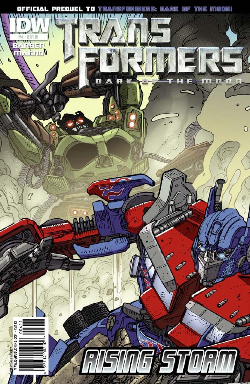 rising storm #4 - transformers comics - tfw2005