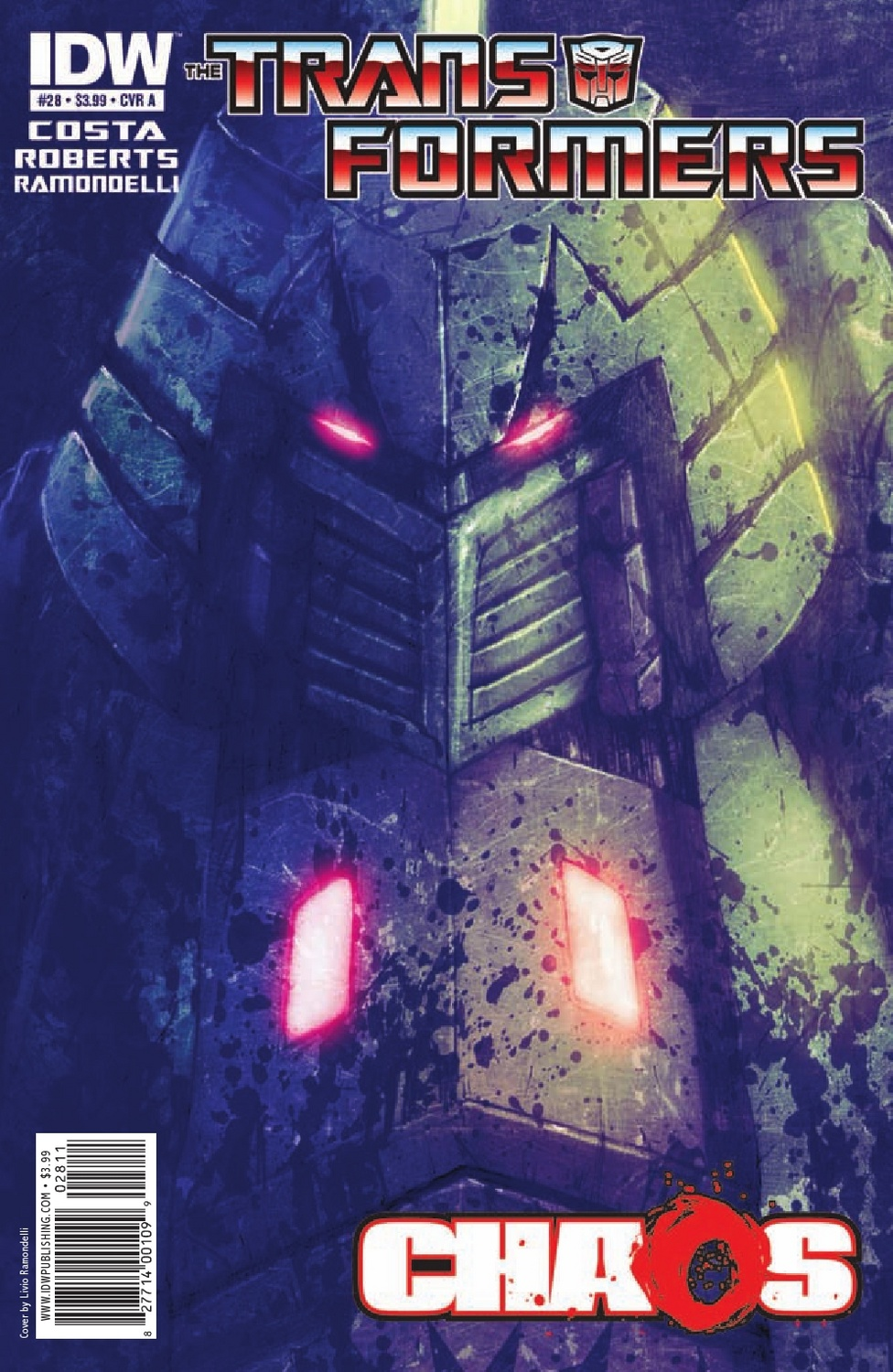 Transformers Ongoing #28 Image