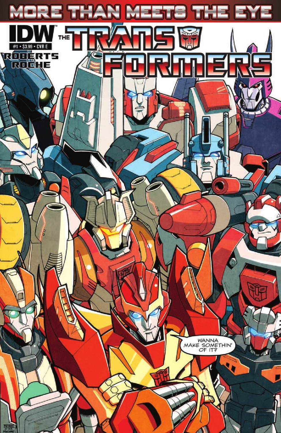 Transformers More Than Meets the Eye #1 Image
