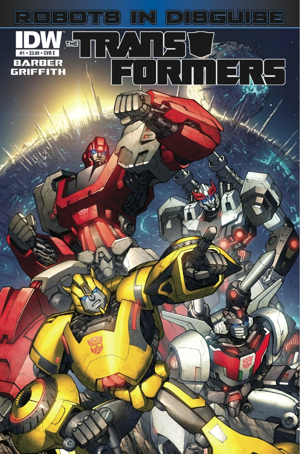 Transformers Robots in Disguise #1 Image