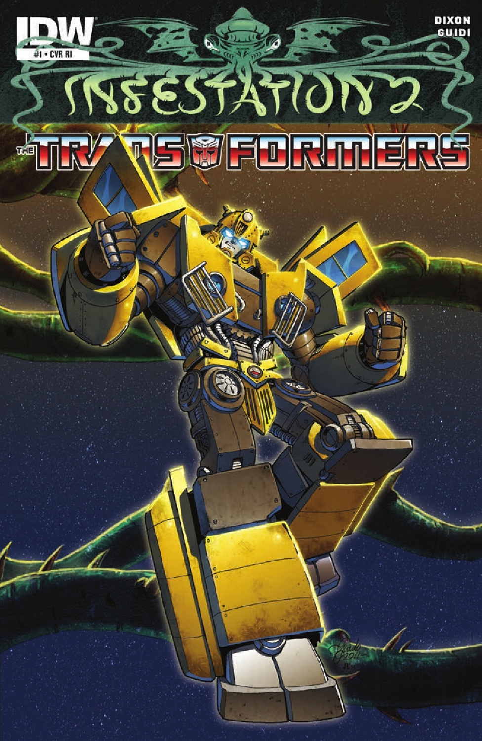 infestation 2 transformers #1 - transformers comics - tfw2005