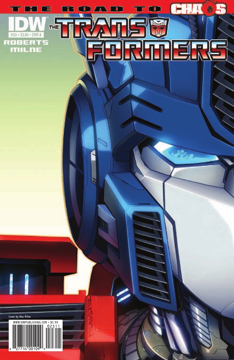 Transformers Ongoing #23 Image