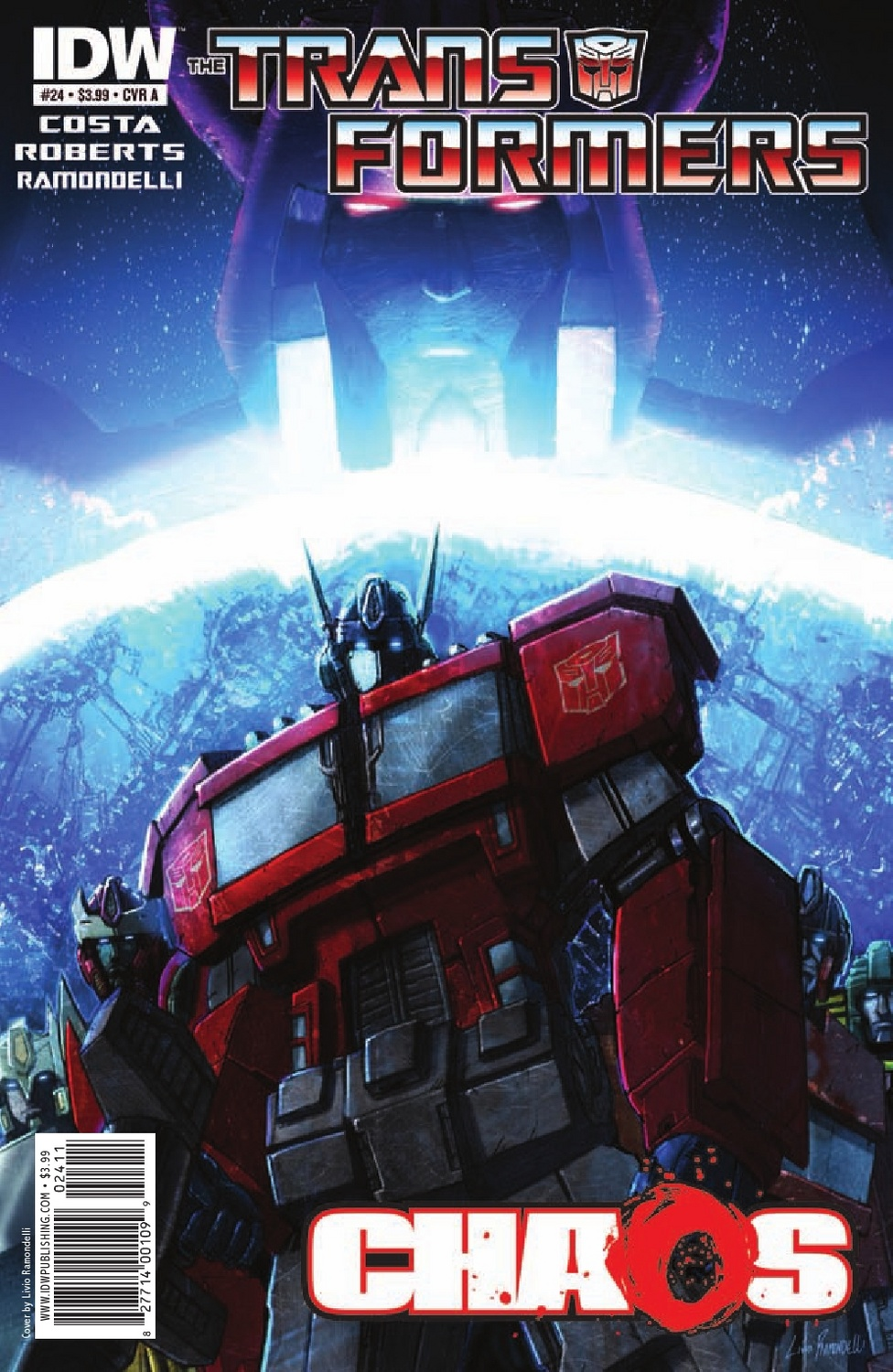 Transformers Ongoing #24 Image