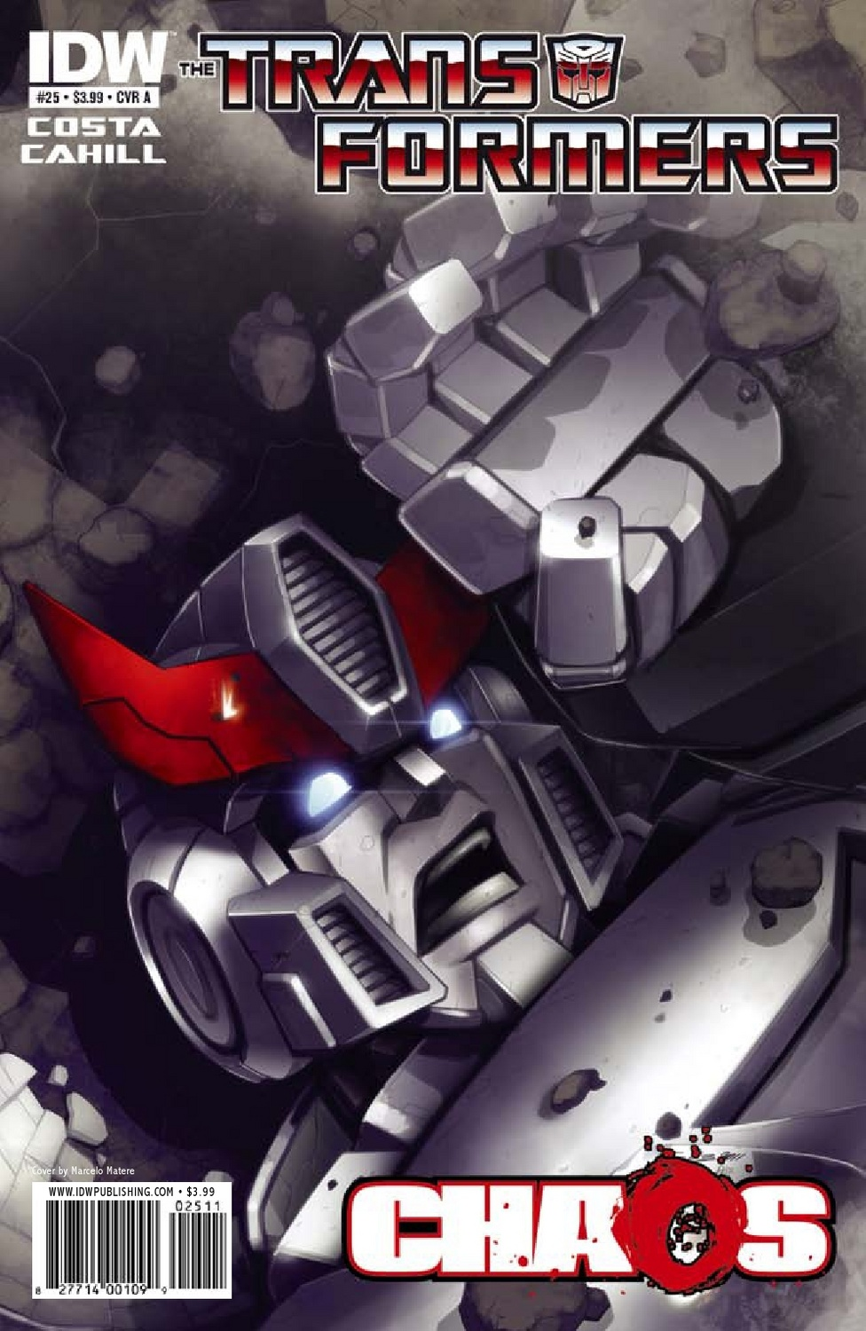 Transformers Ongoing #25 Image