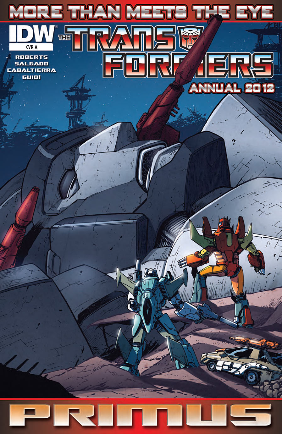 Transformers More Than Meets the Eye Annual 2012 Image