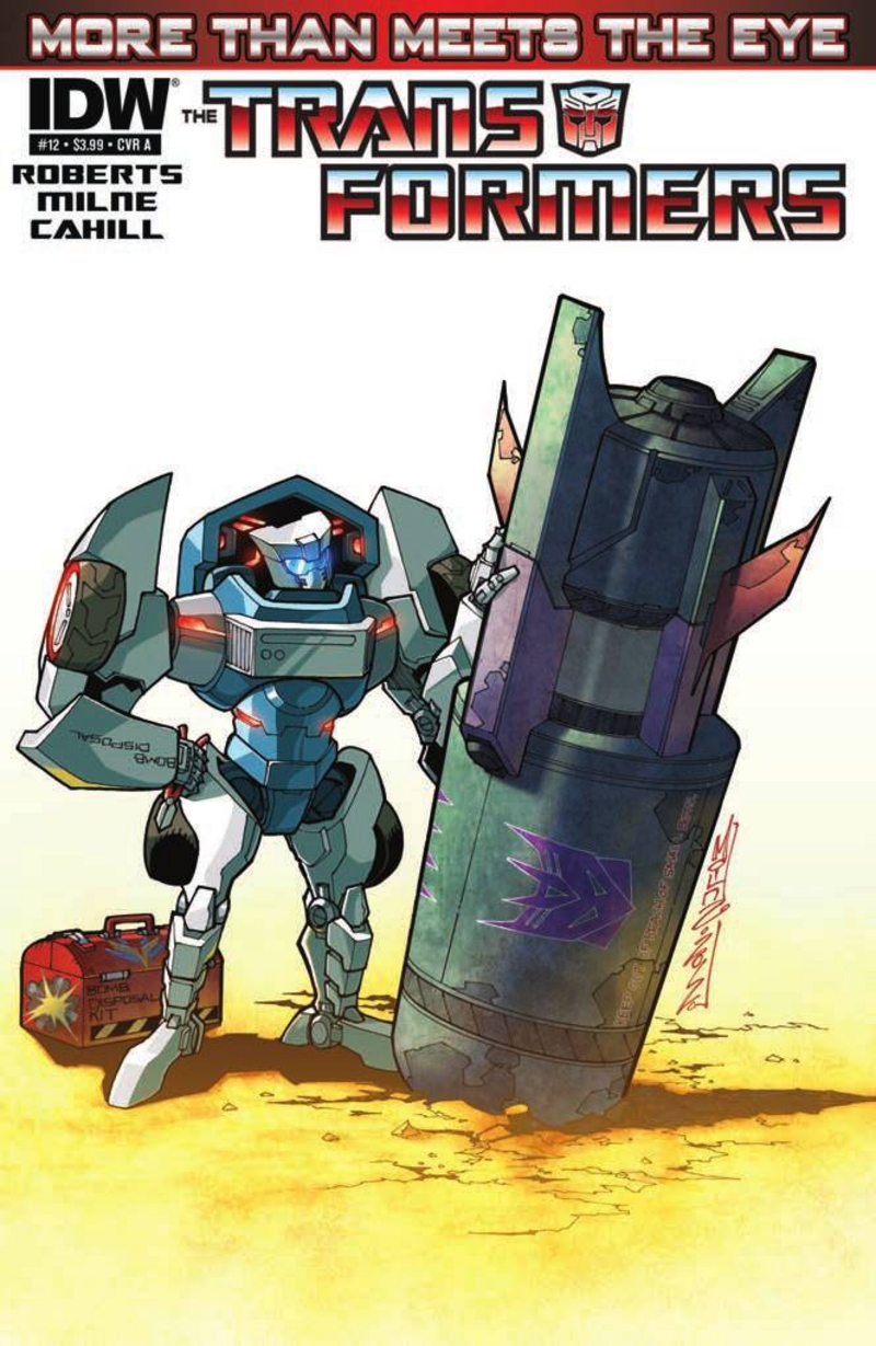 Transformers More Than Meets the Eye #12 Image