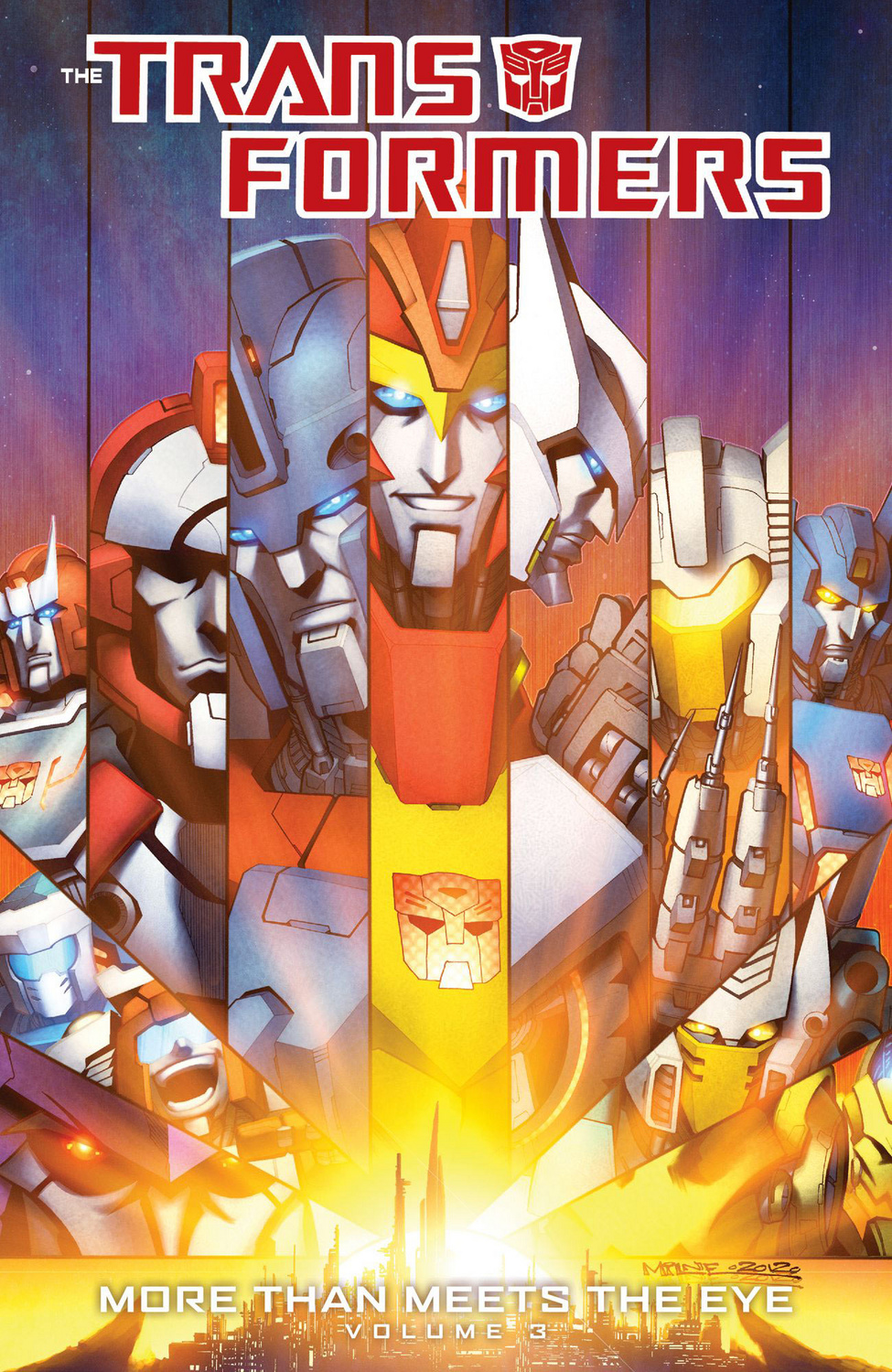 Transformers More Than Meets the Eye Volume 3 Image