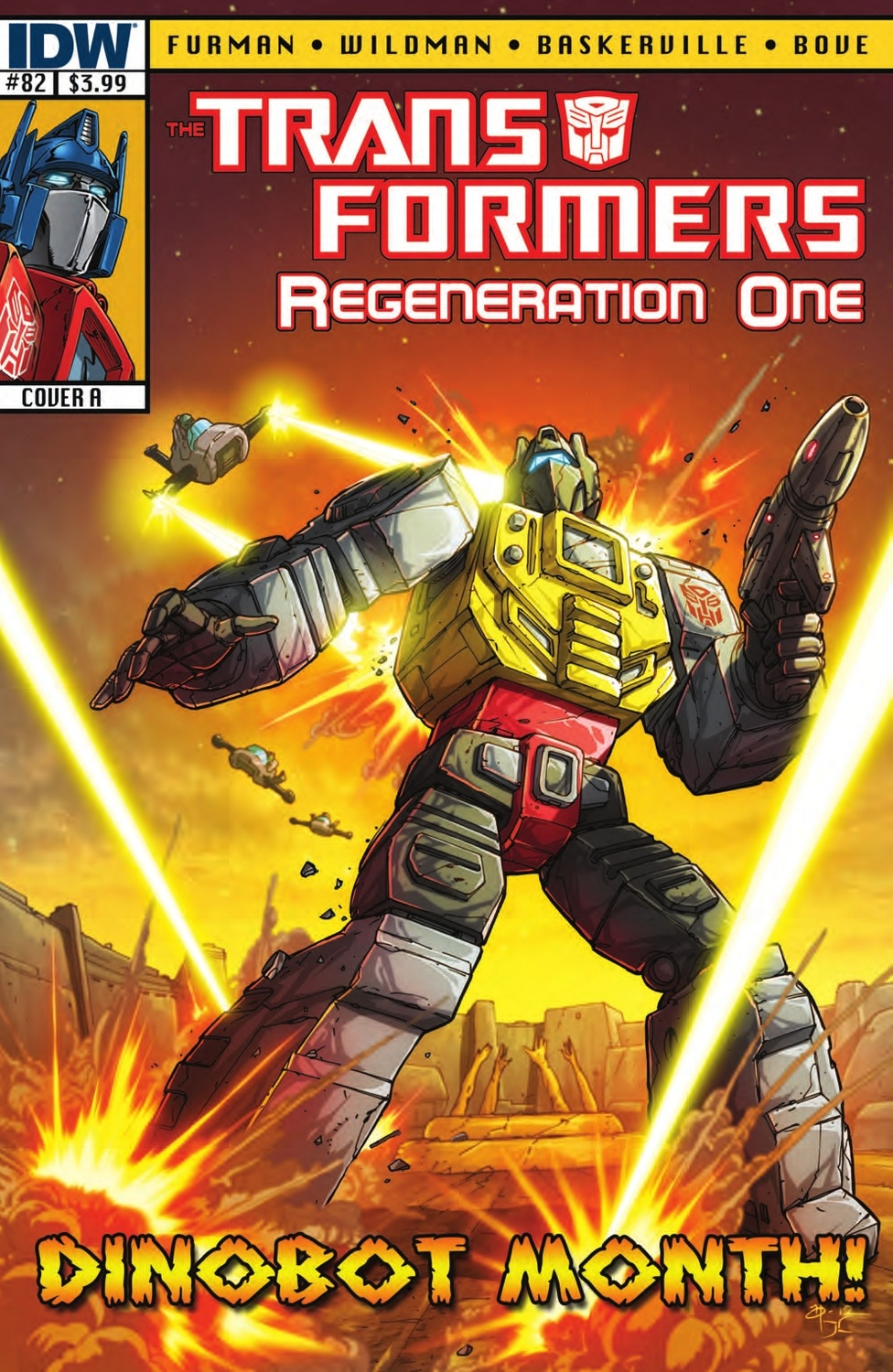 Transformers Regneration #82 Image