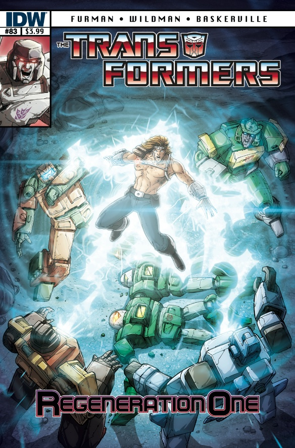 Transformers Regeneration One #83 Image