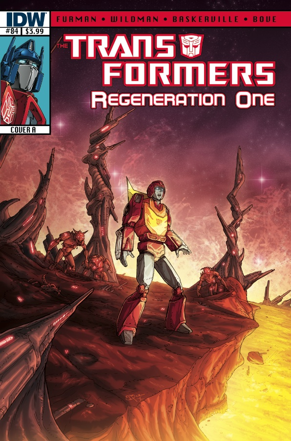 Transformers Regeneration One #84 Image