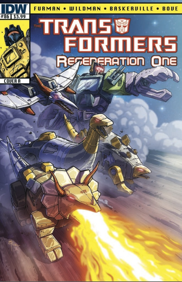 Transformers Regeneration One #86 Image