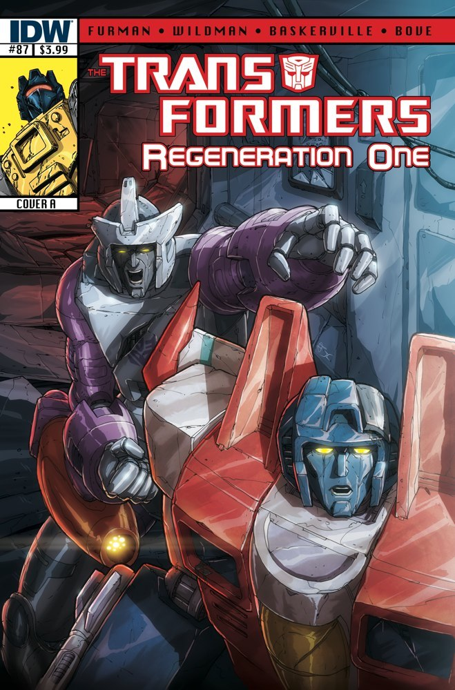 Transformers Regeneration One #87 Image