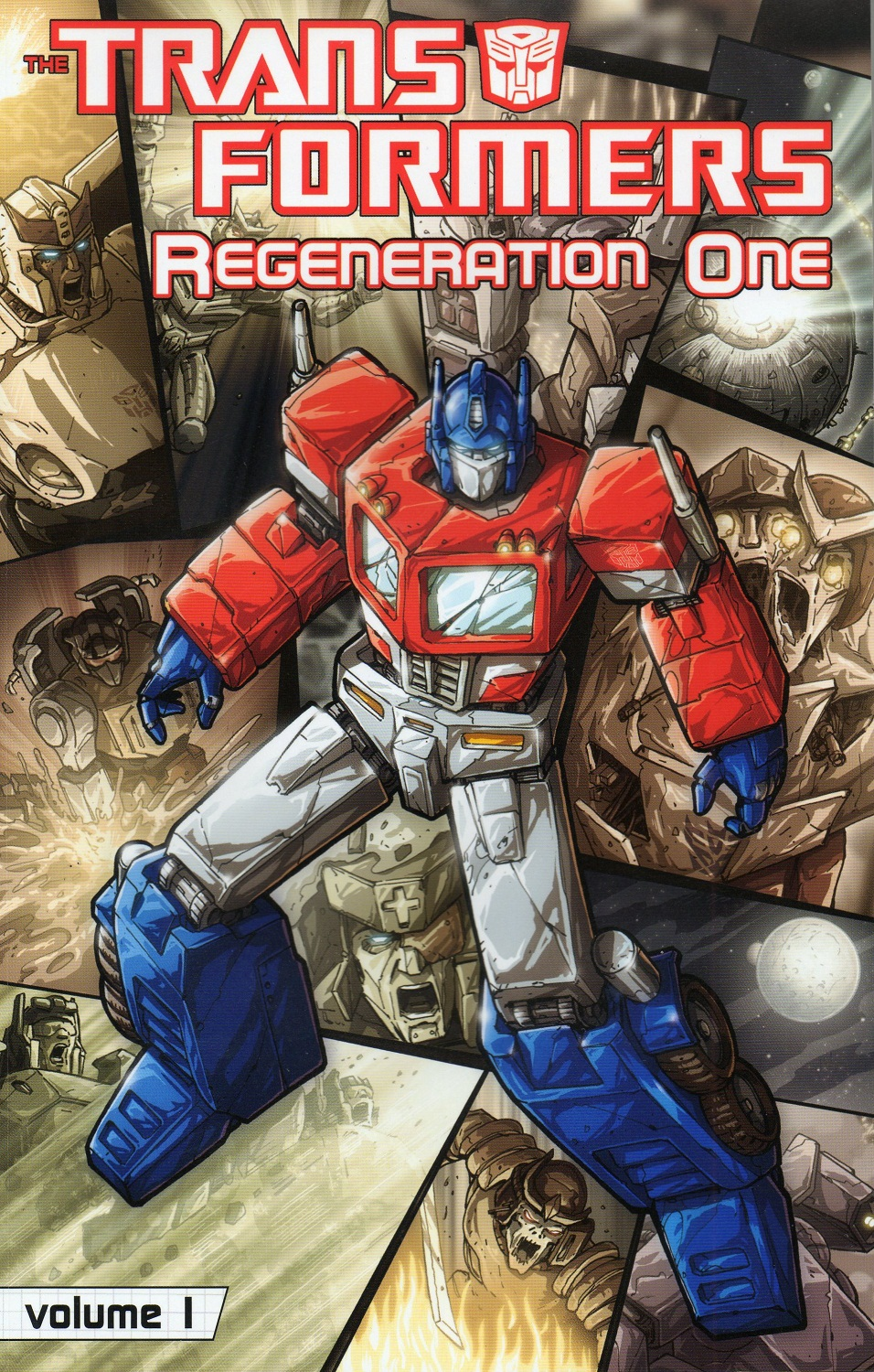 Transformers Regeneration One Volume 1 Image