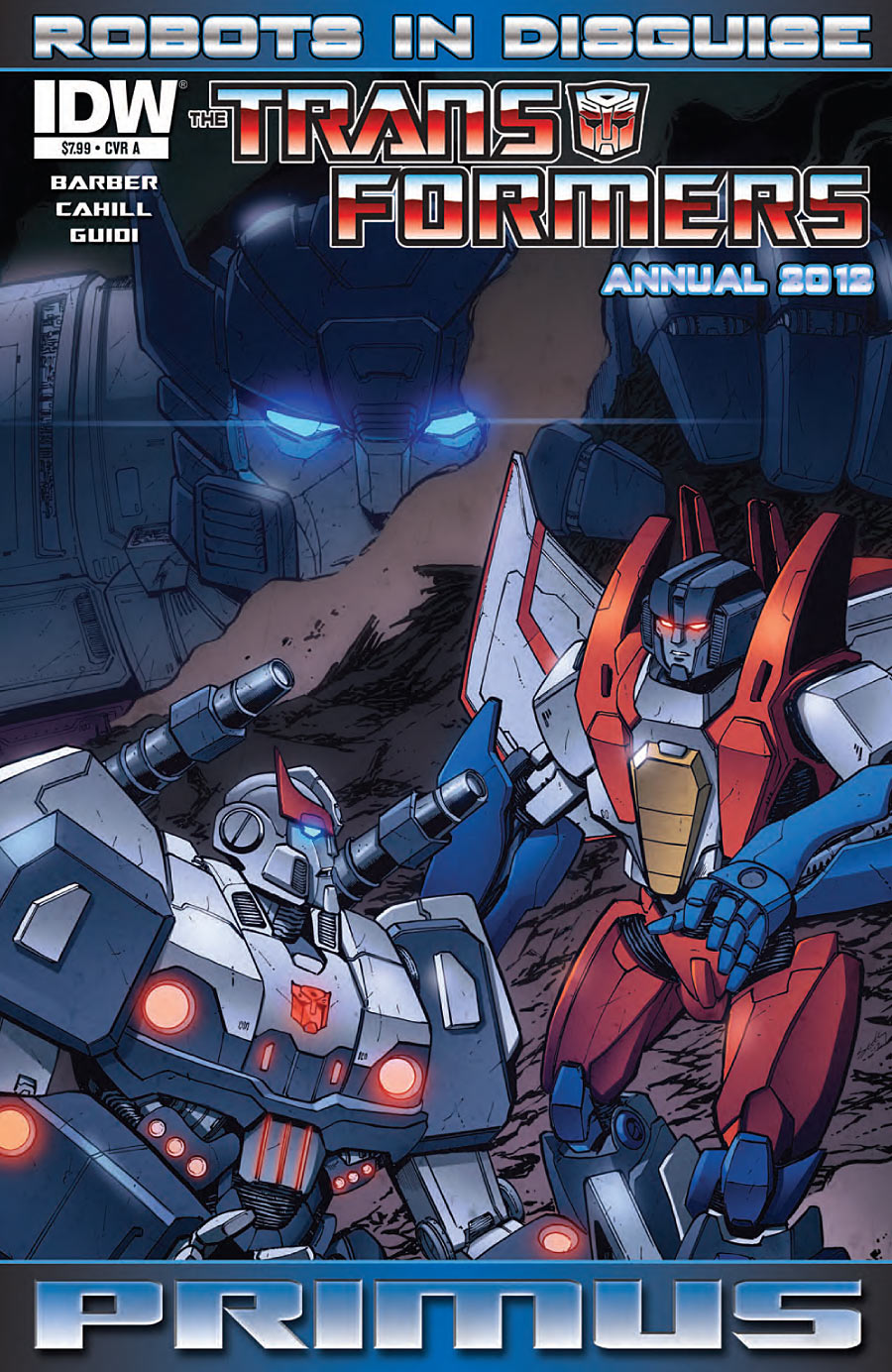 Transformers Robots in Disguise Annual 2012 Image