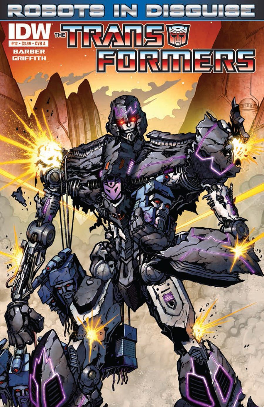 Transformers Robots in Disguise #12 Image