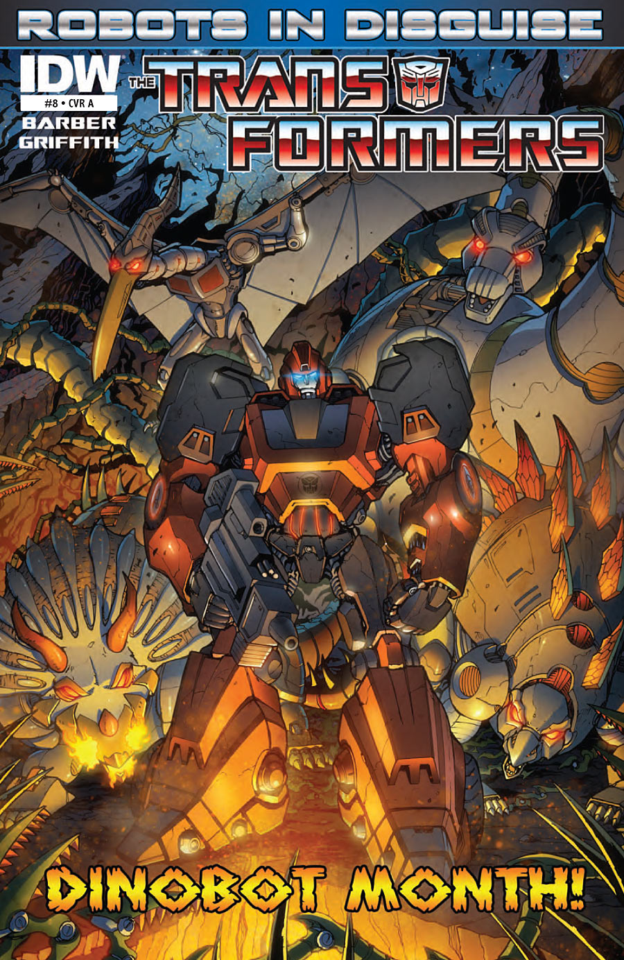 Transformers Robots in Disguise #8 Image