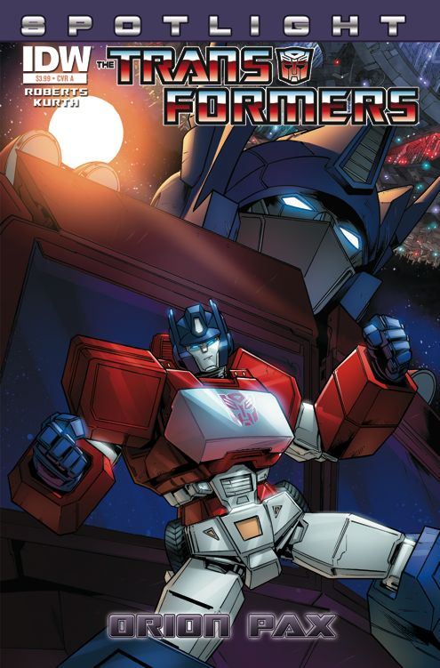 transformers-comics-spotlight-orion-pax-cover-a Spotlight -Orion Pax