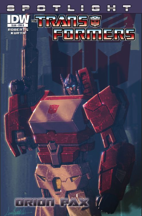 transformers-comics-spotlight-orion-pax-cover-b Spotlight -Orion Pax