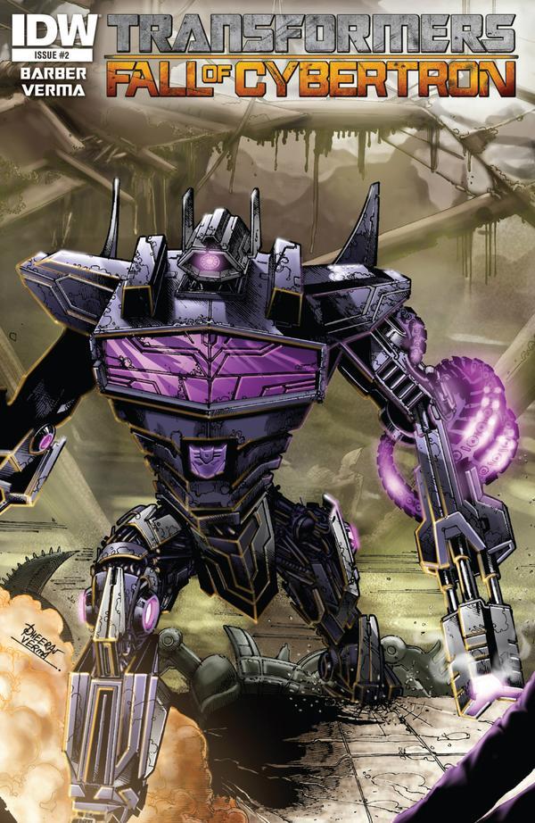 Transformers Fall of Cybertron #2 Image