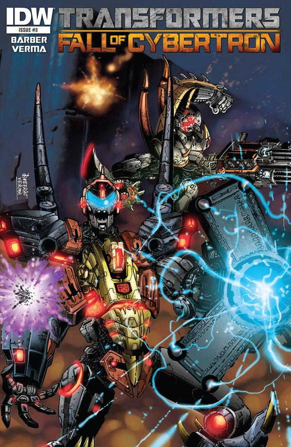 Transformers Fall of Cybertron #3 Image