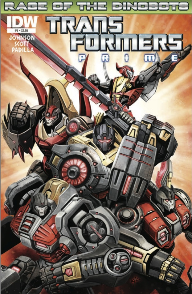Transformers Prime Rage of the Dinobots #1 Image