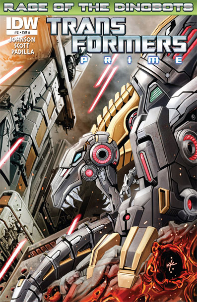 Transformers Prime Rage of the Dinobots #2 Image