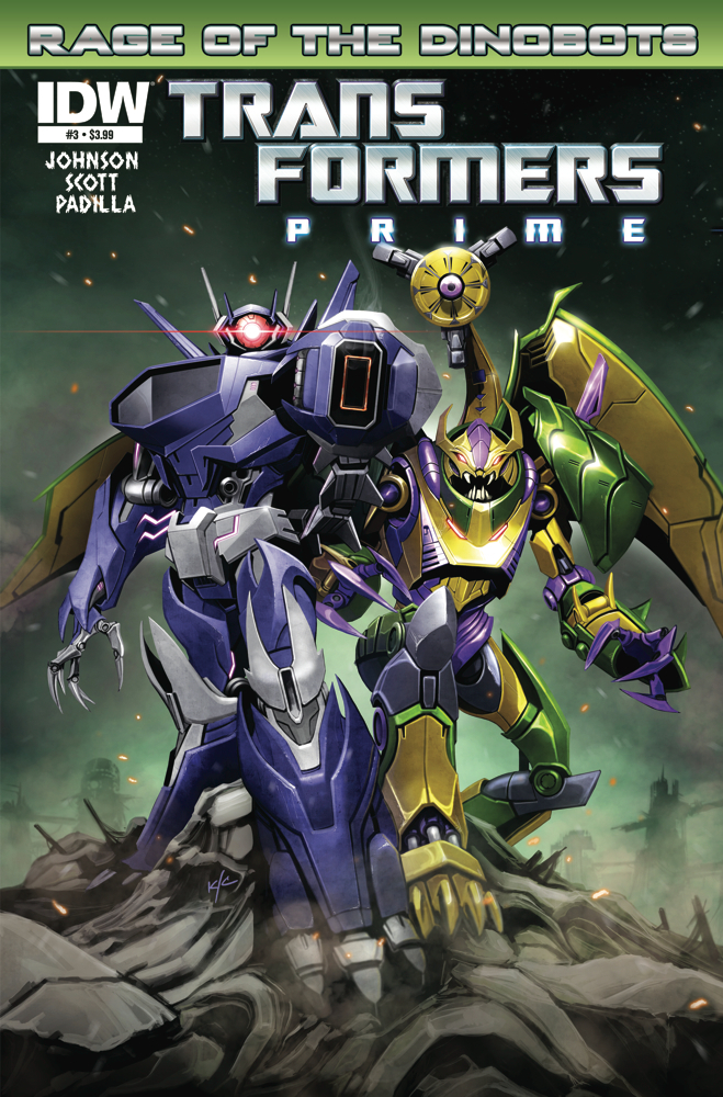 Transformers Prime Rage of the Dinobots #3 Image