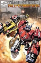 Transformers Fall of Cybertron Comics