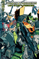 Transformers Last Stand of the Wreckers Comics