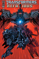 Transformers Nefarious Comics