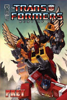 Transformers Best of U.K. Comics