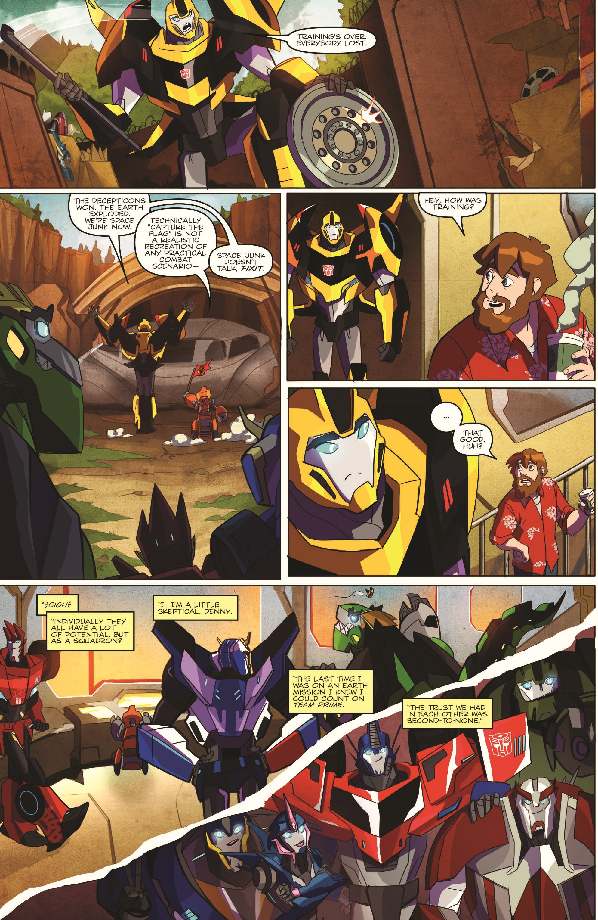 Transformers Robots In Disguise Animated Issue 1 Page 4